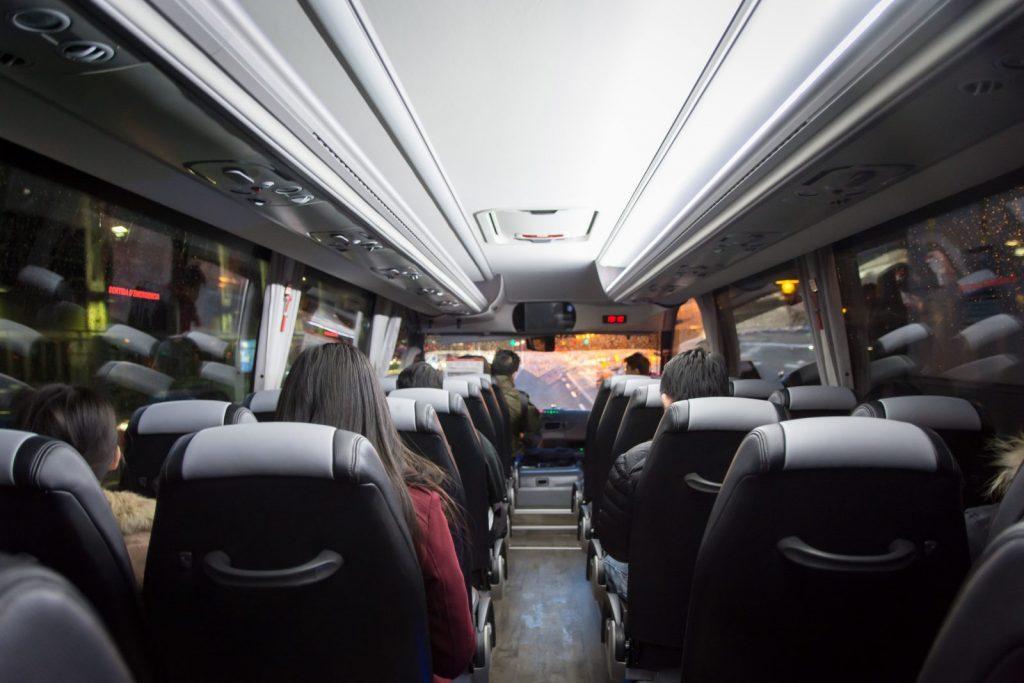 presupuesto del alquiler de un autobús
